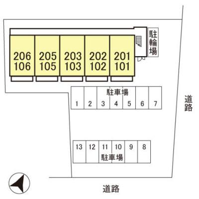 【区画図】グリーンコート 壱番館