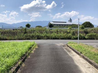 【前面道路含む現地写真】うきは市吉井町(借家4戸)