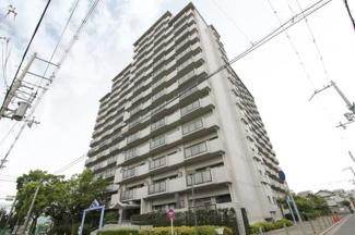 【コスモシティ尼崎】地上15階建 総戸数175戸 ご紹介のお部屋は10階部分角部屋です♪