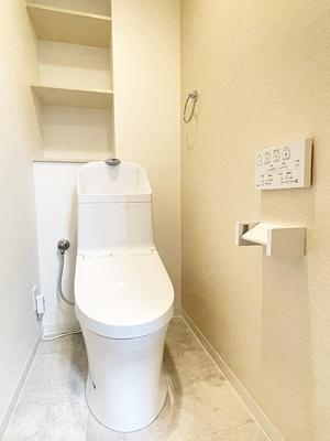 【トイレ】ファミリアーレみなと第2