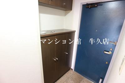 【玄関】牛久第三グリーンコーポ