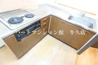 【キッチン】牛久第三グリーンコーポ
