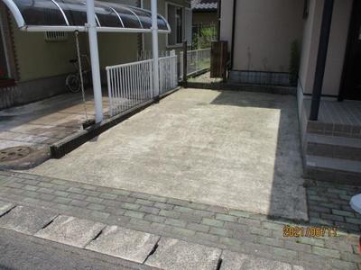 【駐車場】土浦市桜ケ丘町 中古戸建