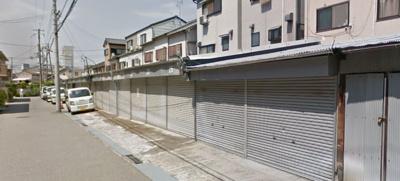 【外観】庄本町2丁目シャッター付ガレージ