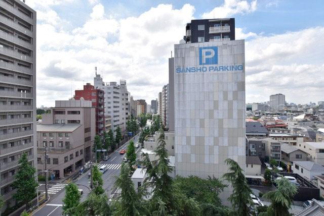 物件のお問い合わせは、 0120-700-968までお気軽にどうぞ! バルコニーからの眺望