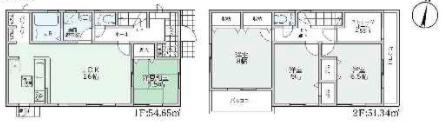 大和高田市築山3期 新築(全2棟)1号棟