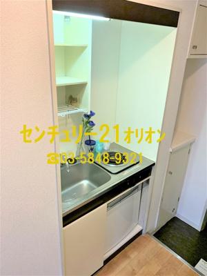 【キッチン】ミリオンコート中村橋(ナカムラバシ)