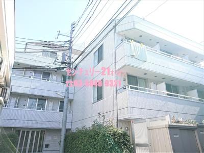 【外観】ホワイトヒルズ富士見台(フジミダイ)-1F