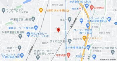 【地図】CITY-U北本