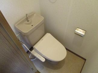 【トイレ】クレディハイツ