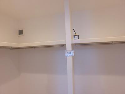 洋室② ウォークインクローゼット完備