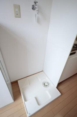 室内洗濯機置き場 ※写真は別号室です。