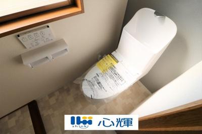 温水洗浄機トイレ、交換済みです。