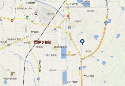 【地図】グラシオッソ・アルバーダ