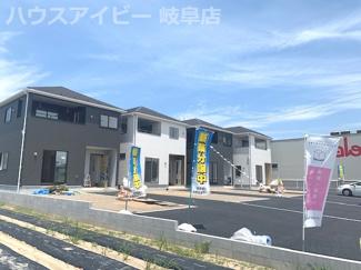 岐阜市北島 新築建売全4棟 バローのすぐ隣!お買い物に便利!圧迫感のない周辺環境!お車も停めやすいです♪