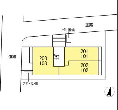 【区画図】Fiore
