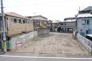 【外観】北区小山東元町売土地