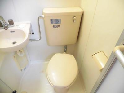 【トイレ】ガーデンハイツ1号棟