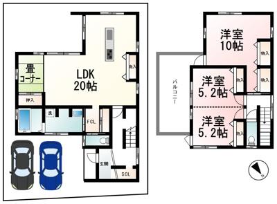 草津駅 東側