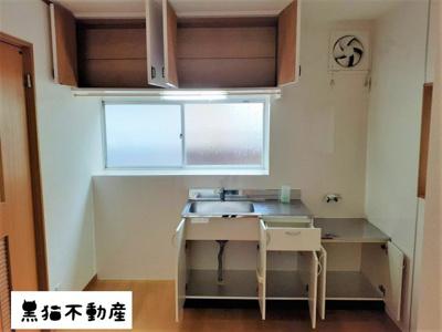 【キッチン】平和ヶ丘借家