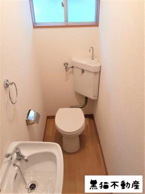 【トイレ】平和ヶ丘借家