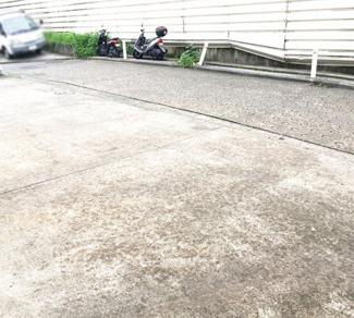 前面駐車あり