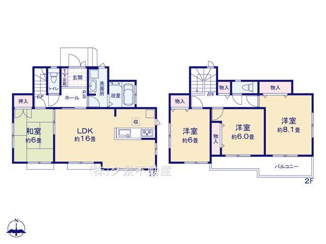 川口市上青木西2丁目7-1(A号棟)新築一戸建てハートフルタウン