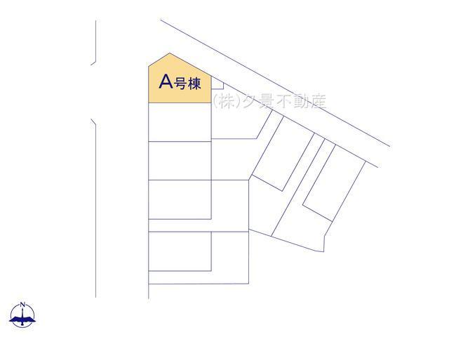 【区画図】川口市上青木西2丁目7-1(A号棟)新築一戸建てハートフルタウン