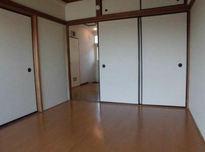 【居間・リビング】ハイツエノキ