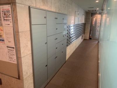 便利な宅配ボックス設置のマンションです。