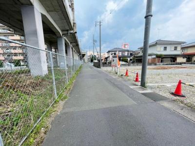 【前面道路含む現地写真】大津市和邇南浜