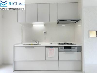 お料理しやすい食器洗い乾燥機付のキッチンです