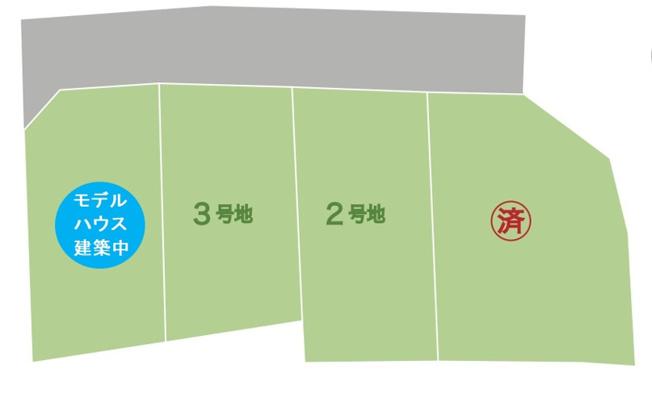 【土地図】山口市宮島町 サンライフ宮島町 2号地