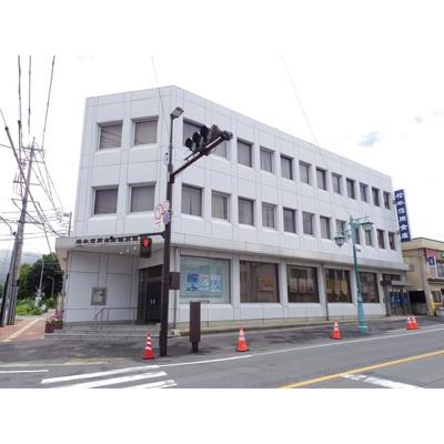銀行「松本信用金庫塩尻支店まで3505m」