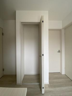 玄関のクローゼットです