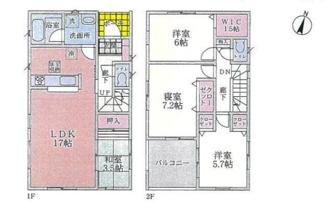 垂水区青山台5  新築戸建4号棟 仲介手数料無料!