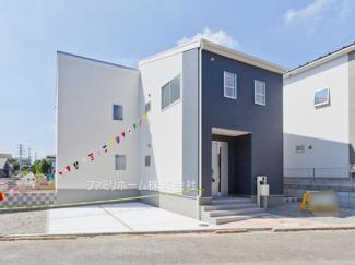船橋市田喜野井 新築一戸建て 外観施工例です。