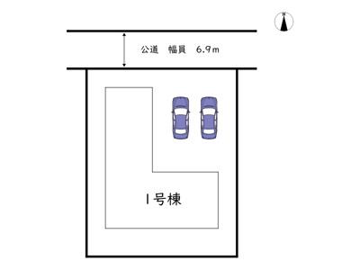 【区画図】姫路市広畑区才 2期/全1棟