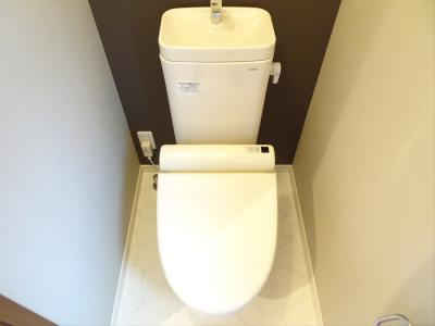 【トイレ】桜上水4丁目邸2階賃貸