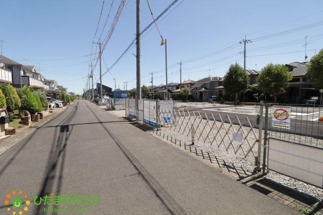 【前面道路含む現地写真】加須市陽光台 新築一戸建て 01 リーブルファイン