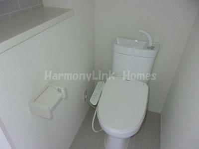 ハーモニーテラス大谷口の落ち着いたトイレです☆