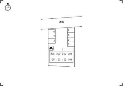 【区画図】リバーサイド33