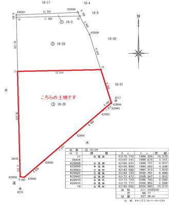 【区画図】南久万