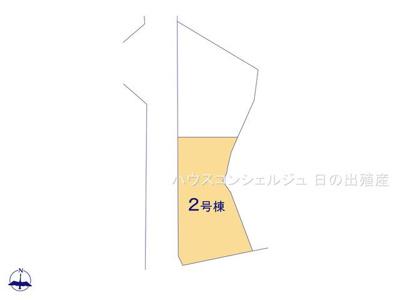 【区画図】東海市加木屋町小清水28-3【仲介手数料無料】新築一戸建て