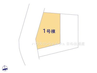 【区画図】名古屋市天白区荒池2丁目1807【仲介手数料無料】新築一戸建て 1号棟