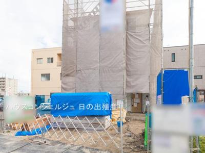 【区画図】名古屋市南区鶴見通5丁目2-3【仲介手数料無料!】全1棟 新築一戸建て