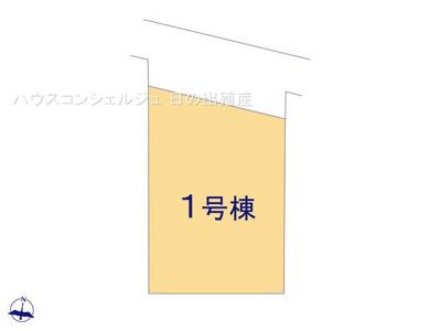 【区画図】名古屋市南区鶴見通5丁目2-3【仲介手数料無料!】全1棟|新築一戸建て