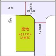 小田急線 狛江駅 建築条件なし売地の画像