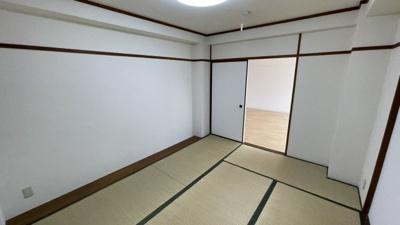 和室1☆6帖です。