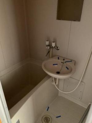 【浴室】メゾンミヤザキ山越・
